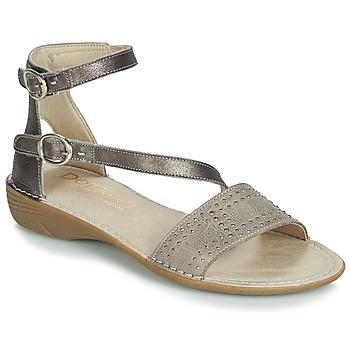 Sapatos Mulher Sandálias Dorking 7863 Cinza