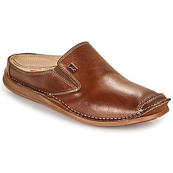 Sapatos Homem Slip on Fluchos NAUTILUS Castanho