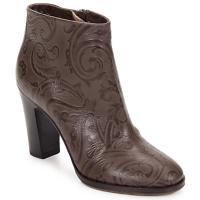 Sapatos Mulher Botins Etro MARLENE Castanho