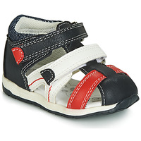 Sapatos Rapaz Sandálias Chicco GABRIEL Azul / Branco / Vermelho