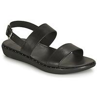 Sapatos Mulher Sandálias FitFlop BARRA Preto