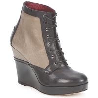 Sapatos Mulher Botins Antonio Marras CALIB Cinza / Preto
