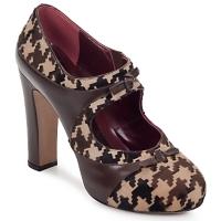 Sapatos Mulher Escarpim Antonio Marras ALINA Castanho