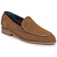 Sapatos Homem Mocassins Barker TOLEDO Castanho
