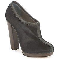 Sapatos Mulher Botas baixas Kallisté BOTTINE 5950 Preto