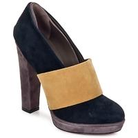 Sapatos Mulher Escarpim Kallisté BOTTINE 5854 Cinza-mostarda