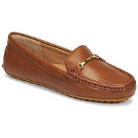 Sapatos Mulher Mocassins Lauren Ralph Lauren BRIONY Conhaque