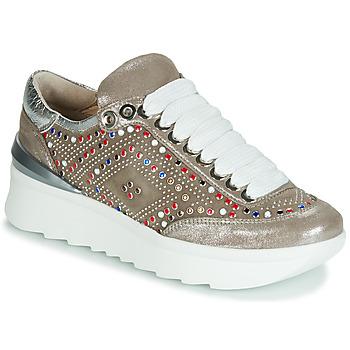 Sapatos Mulher Sapatilhas Now 5357-008 Bege / Brilhante