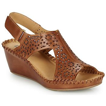 Sapatos Mulher Sandálias Pikolinos MARGARITA 943 Castanho