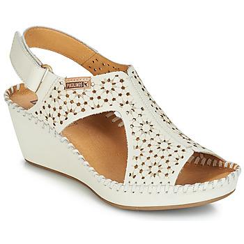 dd2d5ecd603 Sapatos Mulher Sandálias Pikolinos MARGARITA 943 Branco