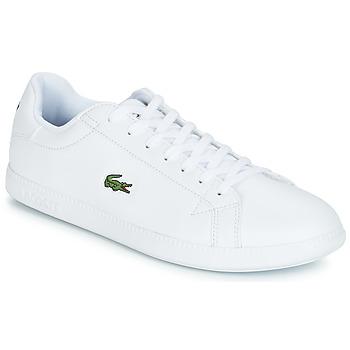 Sapatos Homem Sapatilhas Lacoste GRADUATE BL 1 Branco