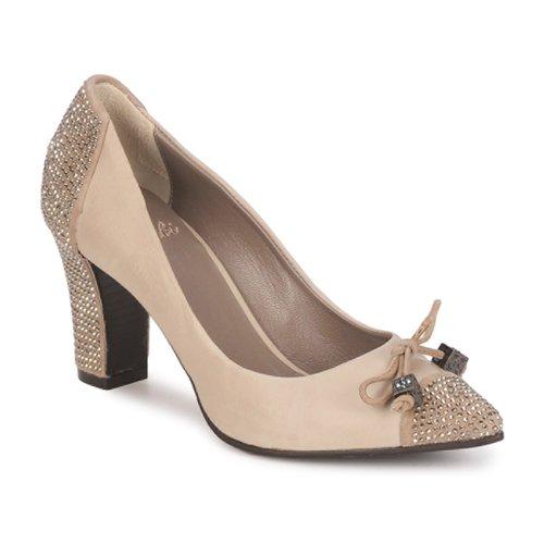 Sapatos Mulher Escarpim Fabi PASQUA Bege