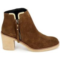 Sapatos Mulher Botins Porronet Boots 4032 Marron Castanho