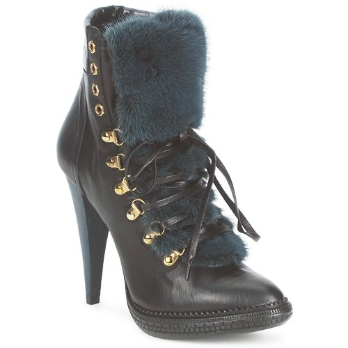 Sapatos Mulher Botins Roberto Cavalli QPS583-PZ260 Castanho