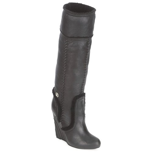 Sapatos Mulher Botas Roberto Cavalli QDS598-PJ007 Preto