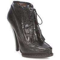 Sapatos Mulher Botins Roberto Cavalli QDS640-PZ030 Preto