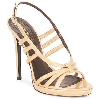 Sapatos Mulher Sandálias Roberto Cavalli QDS626-PL028 Bege