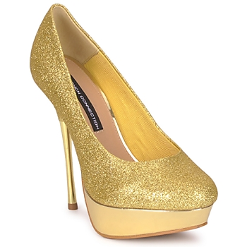 Sapatos Mulher Escarpim French Connection JEZABEL Ouro
