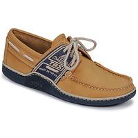 Sapatos Homem Sapato de vela TBS GLOBEK Amarelo / Marinho