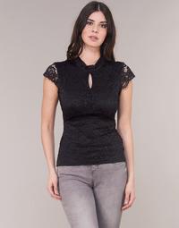 Textil Mulher Tops / Blusas Morgan DNEMA Preto