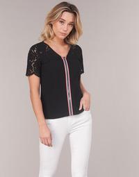 Textil Mulher Tops / Blusas Morgan OSALI Preto
