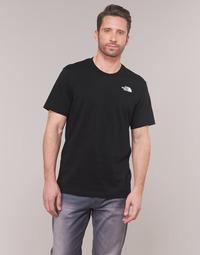 Textil Homem T-Shirt mangas curtas The North Face MEN'S S/S REDBOX TEE Preto