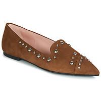 Sapatos Mulher Mocassins Pretty Ballerinas ANGELIS Castanho