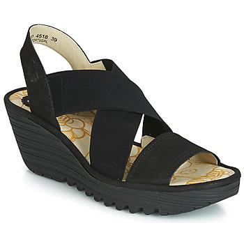 Sapatos Mulher Escarpim Fly London YAJI Preto