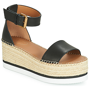Sapatos Mulher Alpargatas See by Chloé SB32201A Preto
