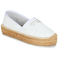 Sapatos Mulher Alpargatas Love Moschino JA10163G07 Branco