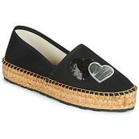 Sapatos Mulher Alpargatas Love Moschino JA10243G07 Preto