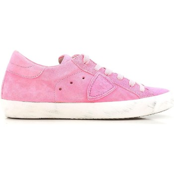 Sapatos Mulher Sapatilhas Philippe Model CLLD XR04 Rosa acceso