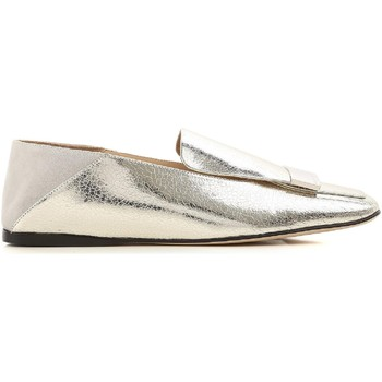 Sapatos Mulher Mocassins Sergio Rossi A77990 MFN305 8198 argento