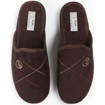 Sapatos Mulher Chinelos Roal Zapatillas De Casa  859 Marrón Castanho