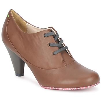 Sapatos Mulher Botas baixas Terra plana GINGER ANKLE Castanho