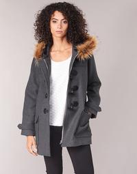 Textil Mulher Casacos Casual Attitude HAIELL Cinza