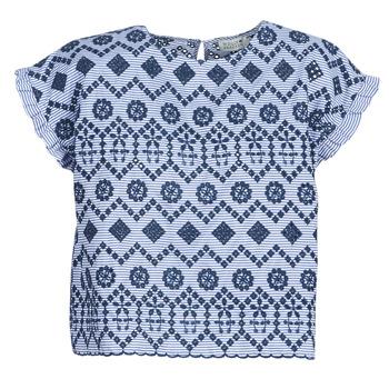 Textil Mulher Tops / Blusas Molly Bracken MOLLIUTE Marinho