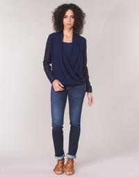 Textil Mulher Calças Jeans Le Temps des Cerises PULP REGULAR Azul