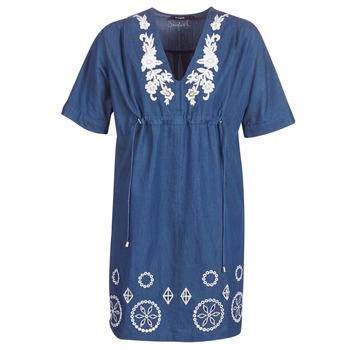Textil Mulher Vestidos curtos Desigual ELECTRA Marinho