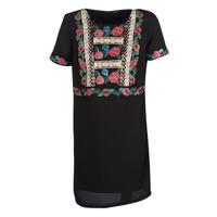 Textil Mulher Vestidos curtos Desigual TRALEE Preto