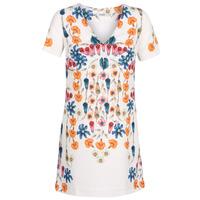 Textil Mulher Vestidos curtos Desigual CORK Branco