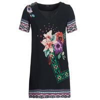 Textil Mulher Vestidos curtos Desigual BARTA Preto