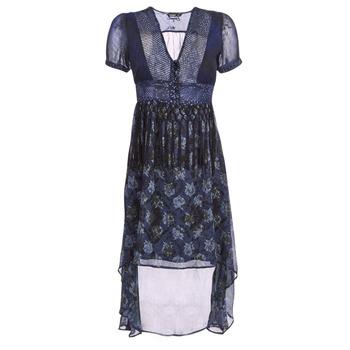 Textil Mulher Vestidos compridos Desigual MINALI Marinho