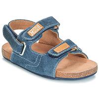 Sapatos Rapaz Sandálias Mod'8 KORTIS Azul / Ganga