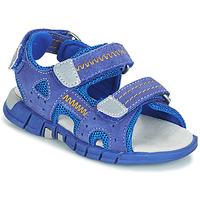 Sapatos Rapaz Sandálias desportivas Mod'8 TRIBATH Azul