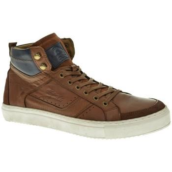 Sapatos Homem Sapatilhas de cano-alto Urbanfly 8293 castanho