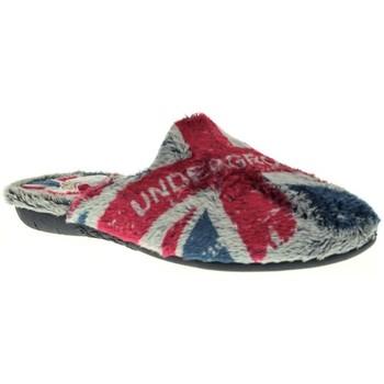 Sapatos Rapaz Chinelos Puchitos 8020 Azul