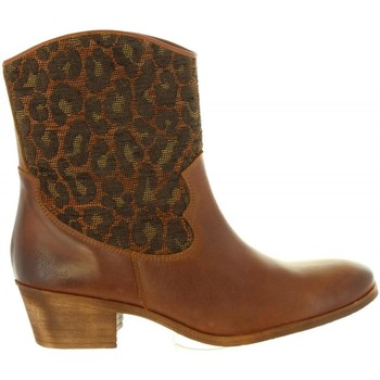 Sapatos Mulher Botins MTNG 94026 Marr?n