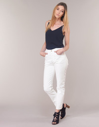 Textil Mulher Calças Jeans Levi's 501 CROP Chá