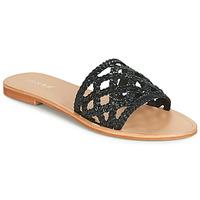 Sapatos Mulher Chinelos Jonak WEB Preto